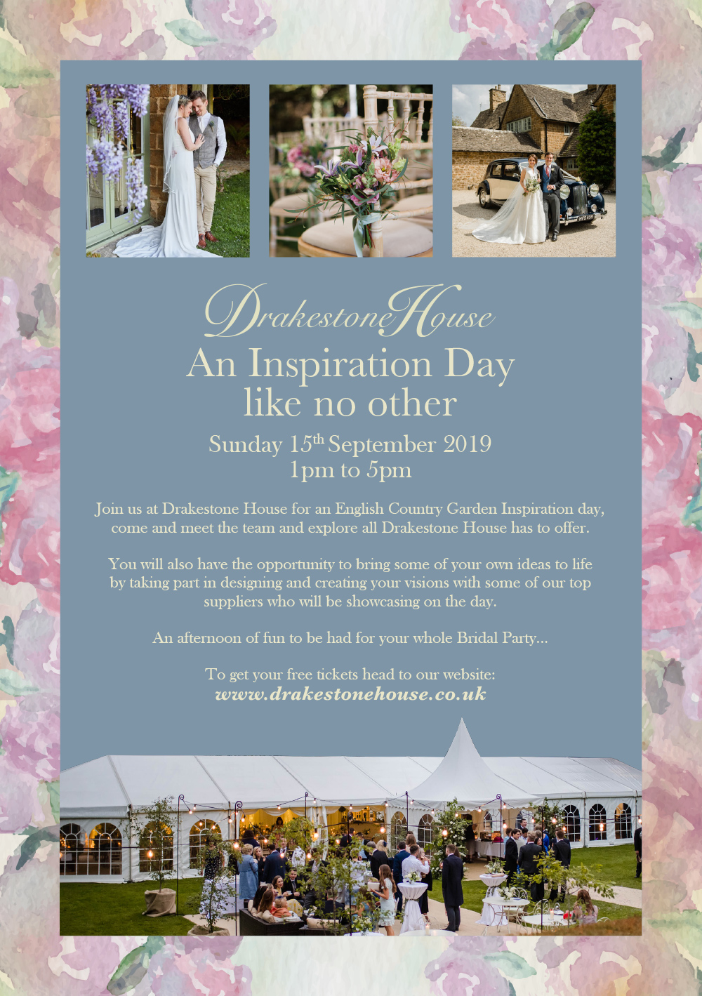 Wedding Open Day Flyer